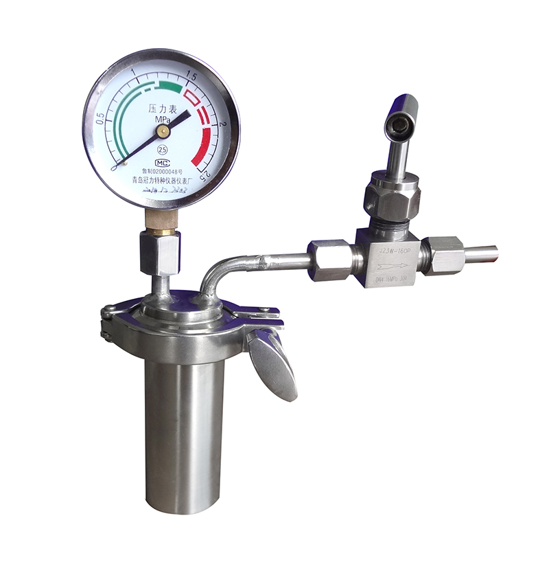 MD微型反应器(带放空、压力表口)