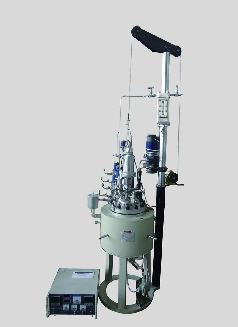 CJ升降型反应釜(油浴、下出料)