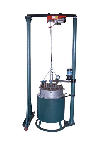 CJ升降并可移动型反应釜