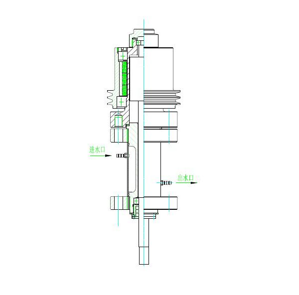 50-100L磁力驱动搅拌器结构图